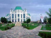 Opera- och baletthus i astrakan, Ryssland Arkivfoton