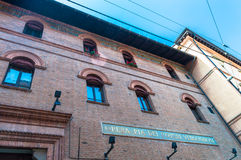 Opera. The old opera house in Bologna Royalty Free Stock Photography