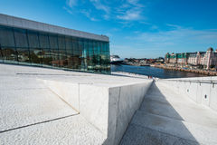 Opera oslo detail Stock Photography