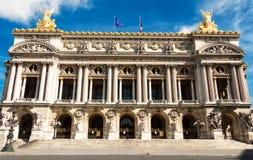 Opera - pałac Garnier Paris france Zdjęcia Royalty Free