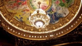 Opera Parigi Fotografie Stock Libere da Diritti