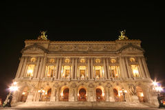 Opera in Paris Royalty Free Stock Photography