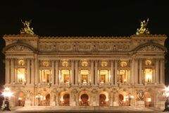 opera paris Royaltyfri Foto