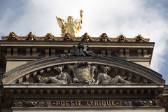 The Opera of Paris Stock Images