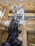 Opera Paris Hall royaltyfri bild