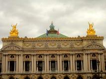 Opera  Paris. The Opera in the heart of Paris Stock Photo
