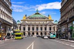 Opera Paryż - Uroczystej opery opera Garnier Paris france fotografia stock