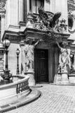 Opera Pary? - Uroczystej opery opera Garnier Paris france obrazy royalty free
