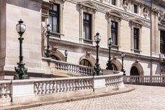 Opera Pary? - Uroczystej opery opera Garnier Paris france zdjęcie royalty free
