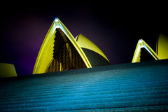 Opera Peaks. A little touch of the Sydney Opera House Stock Photos