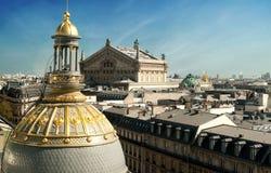 Opera più garnier Parigi - in Francia Fotografie Stock Libere da Diritti