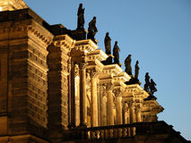 Opera's balcony Royalty Free Stock Images