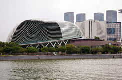 Opera in Singapore. The Opera building in Singapore Royalty Free Stock Image