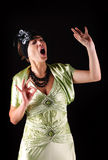 Opera singer Stock Photography