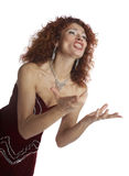 The opera singer Royalty Free Stock Photography