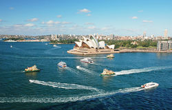 Opera in Sydney, Australia Royalty Free Stock Photos