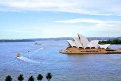opera sydney för Australien hamnhus Arkivbild