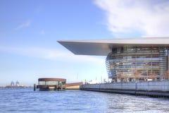 Opera teatr jest w mieście Kopenhaga Zdjęcie Royalty Free