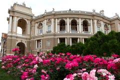 Opera theater, Odessa, Ukraine Royalty Free Stock Images