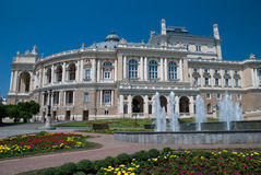 Opera theater in Odessa Ukraine Stock Image