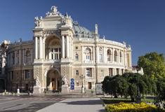 Opera theater in Odessa, Ukraine Royalty Free Stock Photos