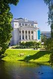 Opera theater in Riga Stock Image