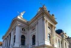 Opera theater in Zurich Stock Image