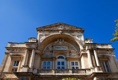 Opera theatre (1846) in Avignon, France Royalty Free Stock Images