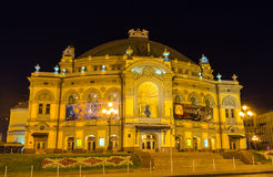 The Opera Theatre at night Stock Image