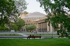 Opera Theatre in Novosibirsk Royalty Free Stock Image