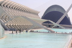 Opera in Valencia, Spain Royalty Free Stock Image