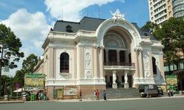 Opera w Ho Chi Minh mieście Zdjęcia Stock