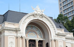 Opera w Ho Chi Minh mieście Obraz Stock