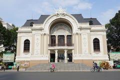 Opera w Ho Chi Minh mieście Obrazy Stock