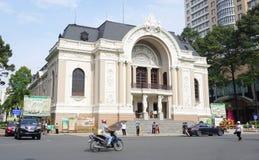 Opera w Ho Chi Minh mieście Obraz Royalty Free