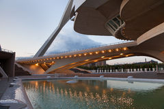 Opera Walencja Hiszpania Obrazy Stock