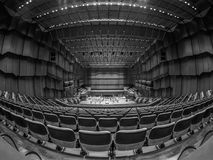 Opera. Wide angle of Frankfurt Opera royalty free stock image