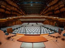 Opera. Wide angle photo of Frankfurt Opera stock image