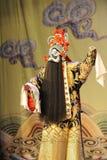 Opera zingen-Peking: Afscheid aan mijn concubine Royalty-vrije Stock Foto's