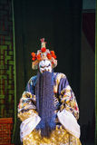 Opera zwart-stileert Gefotografeerd in Mianyang Stock Afbeeldingen