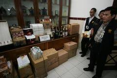 Operación de aduanas Fotos de archivo libres de regalías