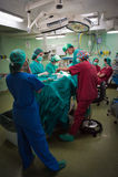 Operación de la cirugía Foto de archivo