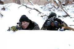 Operación militar. imagen de archivo