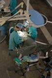 Operación quirúrgica. visión desde Foto de archivo libre de regalías