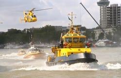 Operación de rescate Fotografía de archivo libre de regalías