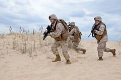 Operación militar Fotos de archivo