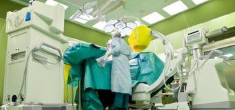 Operacja przeszukiwacza nowożytny szpital Obraz Royalty Free