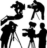 Operador cinematográfico fotografia de stock royalty free