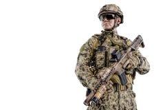 Operador das forças especiais Fotografia de Stock Royalty Free