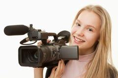 Operador de la cámara Fotos de archivo